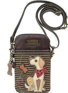Chala 黄色实验室手机斜挎包手提包 - 拉布拉多礼品实验室妈妈