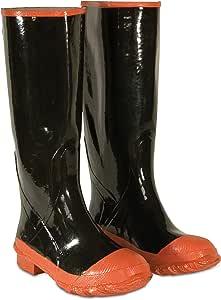 CLC 定制皮革雨衣 红底和脚趾橡胶靴 Size 9 R21009