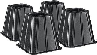 Greenco超强床垫和家具增高四件套,增加储存空间
