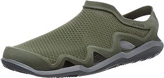 Crocs 卡骆驰 Swiftwater 网眼波浪凉鞋涉水鞋
