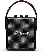Marshall 马歇尔 Stockwell II 便携式蓝牙扬声器——黑色(英国)