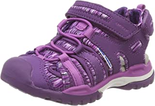 Geox Girls' J Borealis Closed Toe Sandals, Purple (Violet/Purple C8267), 12.5 UK