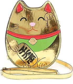 Golden Lucky Cat 斜挎包