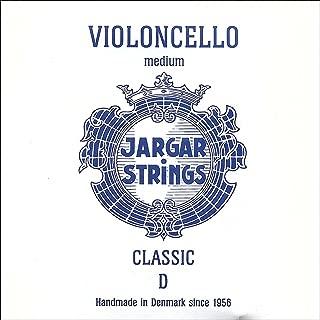 Jargar 4/4 Cello D String 中号铬钢