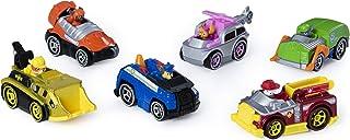 Paw Patrol 真金属经典礼品包,包含6种可收藏的压铸车辆,比例为1:55,多色
