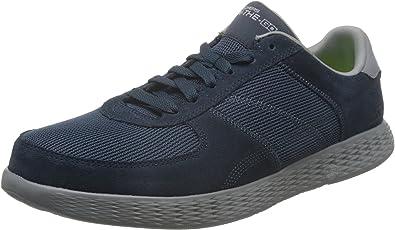 Skechers 斯凯奇 ON-THE-GO系列 男 生活休闲鞋 轻质绑带休闲鞋 53778