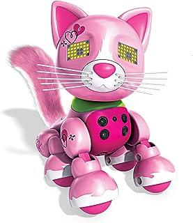 Zoomer Meowzies Arista 互动小猫,带灯光、声音和传感器,Spin Master 出品