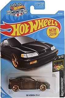 Hot Wheels Nightburnerz 3/10 [黑色] '88 本田 CR-X 49/250 2019 月卡