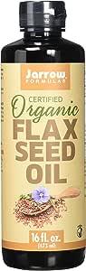 Jarrow Formulas Fresh Pressed Flaxseed Oil, 16 Fluid Ounce (Pack of 2)