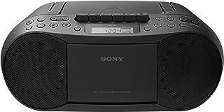 Sony 索尼 CFDS70B.CEK 经典CD和带有收音机的磁带,Boombox-黑色