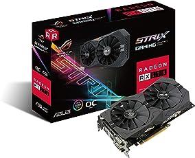 ASUS 华硕 Strix系列 搭载AMD Radeon RX570游戏显卡 ROG-STRIX-RX570-O4G-GAMING