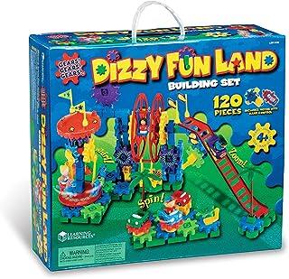 Learning Resources Gears! Gears! Gears!Dizzy游乐园电动齿轮套装 120片 5岁以上