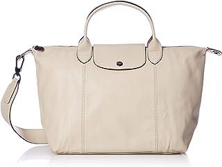 Longchamp 珑骧 经典尼龙饺子包 LE PLIAGE CUIR 皮革[平行进口商品]