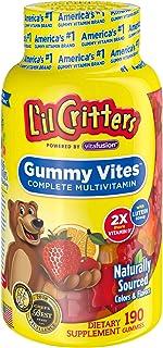 Lil Critters 完整的兒童軟糖,190粒