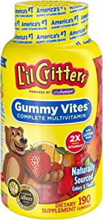 L'il Critters 多种维生素 软糖, 190 粒