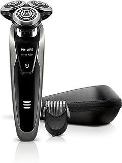Philips 飞利浦 系列 9000 S9161/42 电动剃须刀 干湿两用 带有精密刀片 V 型设计 轮廓检测技术 包括 5 档调节的剃须刀