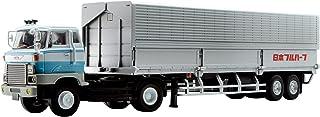 Tomica Limited Vintage NEO 1/64 LV-N167a 日野 HE366 翼展式车厢(日本 FRUEHAUF FPR239)白 / 蓝色 成品