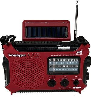 Kaito KA500 5-way Powered Emergency AM/FM/SW Weather Alert Radio 红色