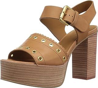 See by Chloé Nora 女士防水台高跟凉鞋