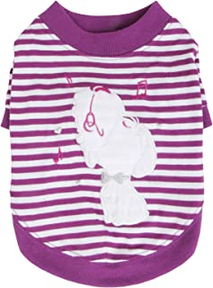 Puppia Mascot T 恤,XS,紫色