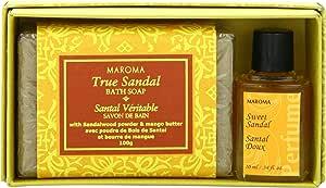Maroma Soap and Perfume Set, True Sandal