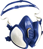 3M 呼吸保护半覆盖口罩 面罩4277 可完全防止有机&无机气体 蒸汽及颗粒物面罩 防护等级A2P3的防异味呼吸保护面罩