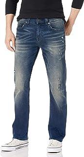 True Religion 男式 Ricky 直筒修身牛仔裤 81.28cm 内缝