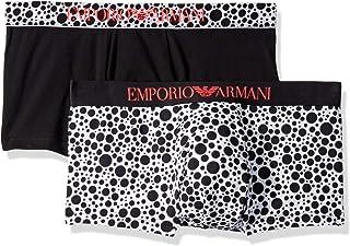 Emporio Armani 男式混合图案内裤 2 件套