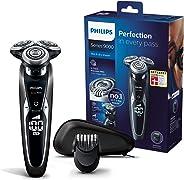 Philips 飞利浦 S9721/41系列9000电动干湿两用剃须刀,配有V-Track Pro刀片,胡须造型器