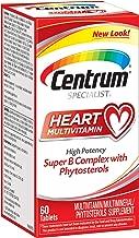 Centrum 善存 Specialist Heart 完整的复合维生素/多种矿物质补充剂 含植物固醇,维生素D3和维生素B,60片