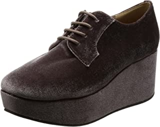 [NUVELOVOREGLAKS] 靴子 厚底系带鞋 28-8058