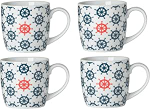 Now Designs Mugs, Sail, Set of 4