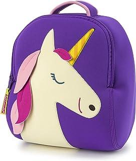 Dabbawalla Bags 独角兽背包,紫色/白色/粉色