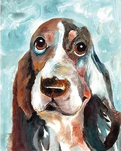 "Sandy Doonan 创作的""Best Friends 2 Bright""油画 40.64 x 50.80 厘米油画印刷墙壁艺术 16x20 NCH6478"