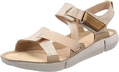 Clarks 女 生活休闲鞋 Tri Clover 26131275 沙色拼色 37.5