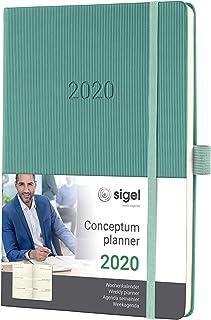 SIGEL 周历 2020 精装 ca. A5 *