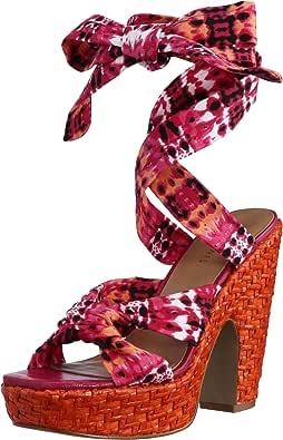 [玖熙] NINE WEST 凉鞋 粉色 24.5 cm