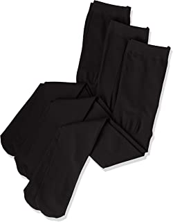 ATSUGI 儿童连裤袜 日本产 KID'S TIGHTS 80D 连裤袜 (三双装) 黑色 日本 95~115cm-(日本サイズ100 相当)