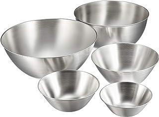 Sori Yanagi stainless bowl 5 件