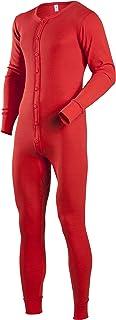 Indera 男士棉 1 x 1 罗纹针织西装