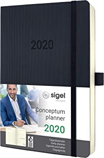 SIGEL 2020 日历 Tageskalender Softcover ca. A5