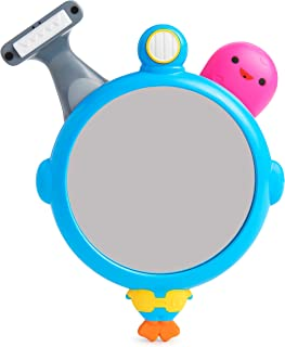 Munchkin See  shave 和喷水镜子套装洗澡玩具