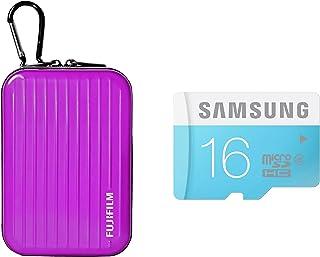 Inov8 紧凑相机套装包括 Inov8 手机壳和三星 16GB 标准 Micro SDHC Class 6 存储卡X-AB1034-902 飞行箱 紫色