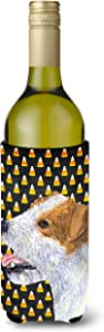 Jack Russell Terrier Candy Corn Halloween Portrait Michelob Ultra Koozies for slim cans SS4297MUK 多色 750 ml