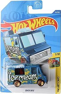 Hot Wheels 艺术汽车 7/10 Quick Bite 115/250,蓝色