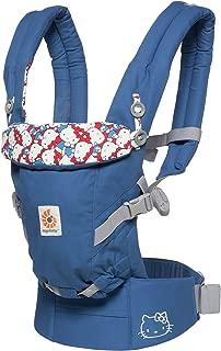 ERGObaby adapt Award Winning 人体工程学 multi-position 婴儿背带经典蓝色