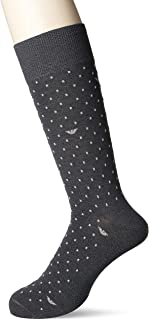 [安普里奥·阿玛尼] 男士・商务・Egood・使用高捻度纱・圆领长筒袜 2312415