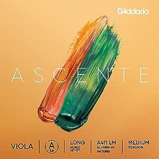 D'Addario Ascenté 小提琴弦套装A411 LM A 弦 Long Scale