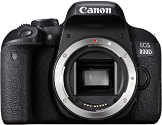 Canon EOS 800d 身体数码相机,黑色1895C001AA EOS 800D empty case 黑色