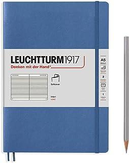 Leuchtturm1917 Muted Colours Special Edition 记事本,牛仔布,软封面,A5,横格纸